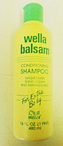 Wella Balsam Conditioning Shampoo For Extra Body 16 Oz.