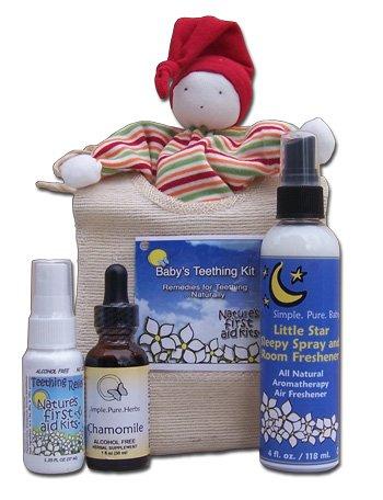 All Natural Baby Teething Kit