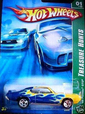 2007 Hotwheels TH 1/12 69 Pontiac GTO