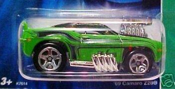 2007 Hotwheels TH 69 Camaro Z28 3/12