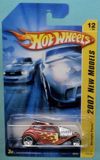 2007 Hotwheels FE 12/36 Straight Pipes
