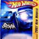 2007 Hotwheels FE 15/36 BATMOBILE