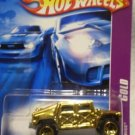 2007 Hotwheels GOLD SERIES #3 of 4 HUMVEE