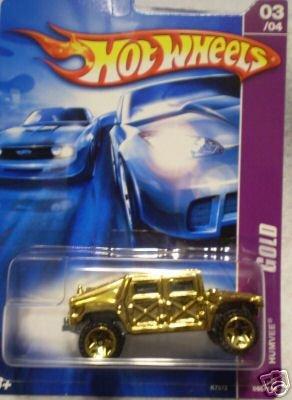 2007 Hotwheels GOLD SERIES #3 of 4 HUMVEE