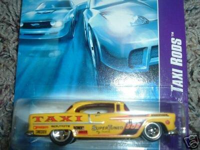 2007 Hotwheels 1955 Chevy Bel Air #2 of 4
