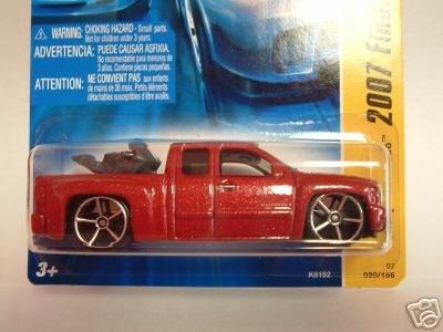 2007 Hotwheels FE #20 of 36 Chevy Silverado MAROON