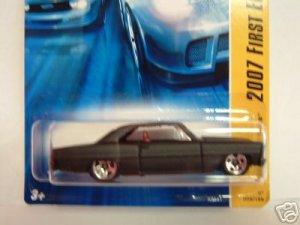 2007 Hotwheels FE #9 of 36 66 NOVA Black In Color