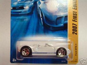 2007 Hotwheels FE #17 of 36 FORD GTX-1 WHITE