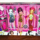 Monster High Student Disembody Council Dolls 5 Pack Set