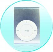 Clip MP3 Player 4GB  [CVAAL-B10-4GB]