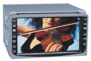 """6.5"""" TFT LCD Car DVD Player, Support 3 kinds of TV System  [CVEKY-V85]"""