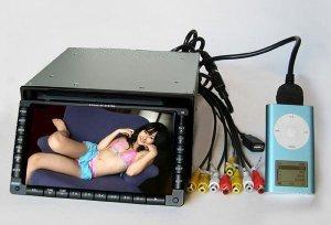 2 DIN Car DVD player W/6.5-inch TFT LCD Monitor, W/USB  [CVEKF-9065UI]