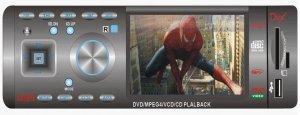 In-Dash Car DVD Player - 3.5 inch Display  [CVEDH-6135]