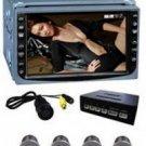 Touch Screen 2 DIN Car DVD Player + Parking System  [CVEZJ-ZH01]