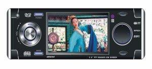 In-Dash Car DVD Player - 3.6 Inch Screen - TV Tuner   [CVEJS-995]