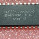 Central Processing Unit IC SHARP DIP-40 LH0080A Z80A-CPU-D    1pc