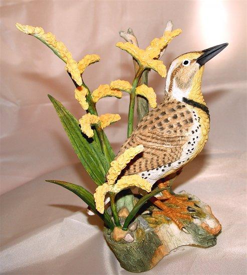 MEADOWLARK on GOLDEN ROD - Porcelain (NIB)