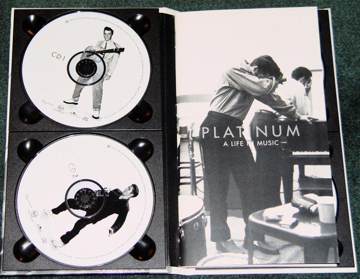 "ELVIS PRESLEY PLATINUM 4 CDs ""A LIFE IN MUSIC"""