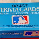 GOLDEN TRIVIA GAME CARDS - Major League Baseball Edition