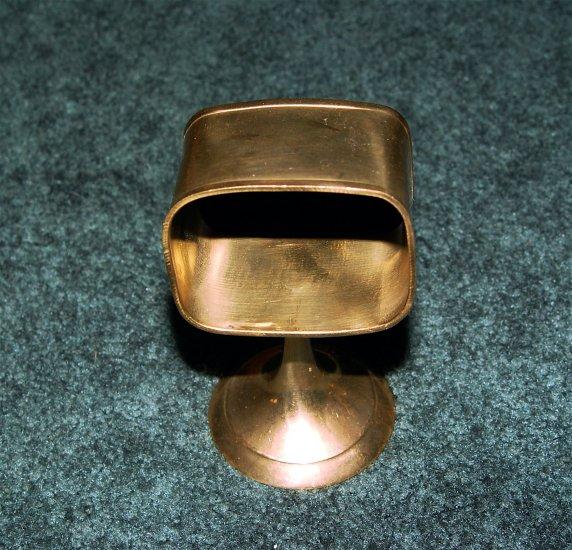 BRASS Napkin Holders 4 pcs- Vintage