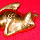 FROG PAPER WEIGHT - Brass