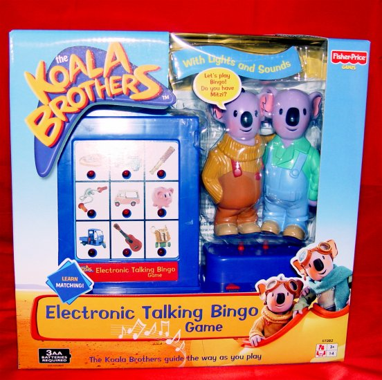 ELECTRONIC TALKING BINGO GAME - FISHER-PRICE- NIB