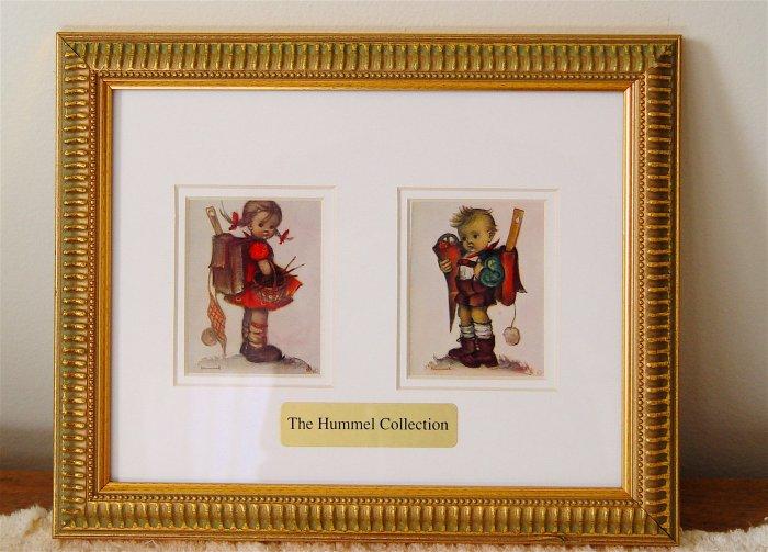 HUMMEL - Reproduction Prints - Set of 3 - Framed