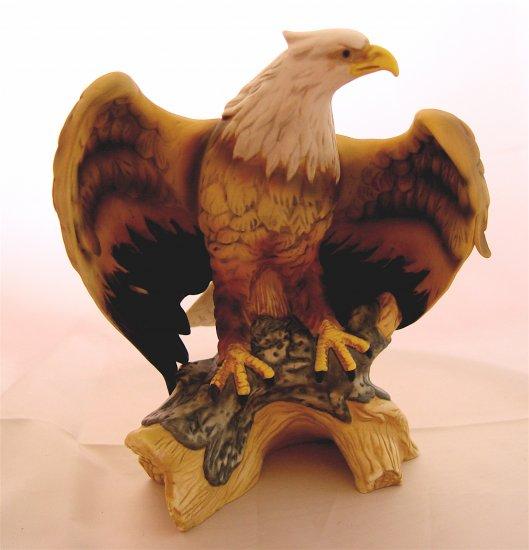 AMERICAN BALD EAGLE - Porcelain