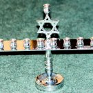 MENORAH - CHROME - CONTEMPORARY - NWOB