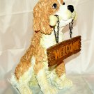 DOG - Ceramic - Garden Patio Decor - (NIB)