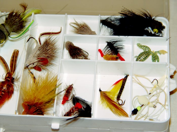 FLY BOX with assorted Lures