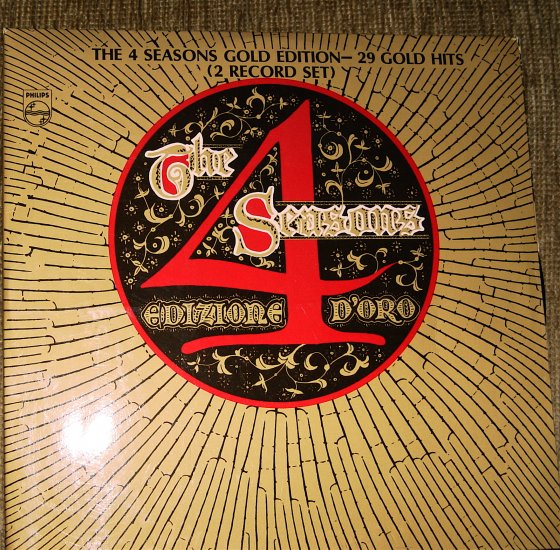 THE 4 SEASONS GOLD EDITION - 29 Gold Hits 2 record set