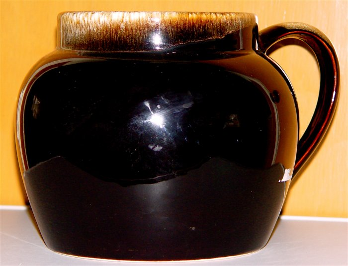 Pfaltzgraff Gourmet Brown Drip BEAN POT or Server - Vintage