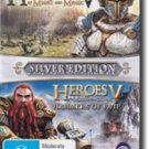 Heroes of Might & Magic V: Silver Edition  (no box and instruction manual)