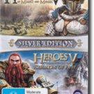 Heroes of Might & Magic V: Silver Edition  (no box and instruction manual)