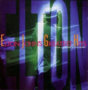 Elton John Greatest Hits Volume 3 (Hits from 1979-1987) Cassette Tape