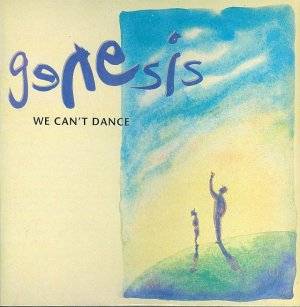 Genesis We Can't Dance Cassette Tape