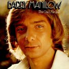 Barry Manilow This One's For You Cassette Tape