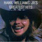 Hank Williams Jr Greatest Hits Cassette Tape