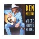 Ken Mellons Where Forever Begins Cassette Tape