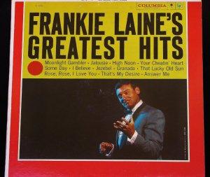 Frankie Laine Greatest Hits - LP