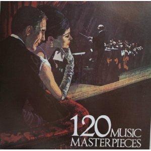 120 Music Masterpieces Cassette Tape