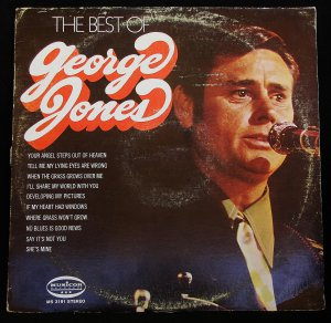 The Best of George Jones - LP