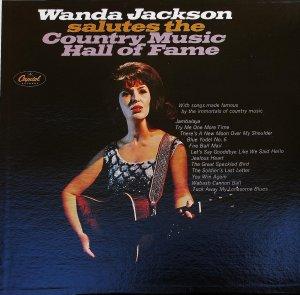 Wanda Jackson Salutes The Country Music Hall of Fame - LP