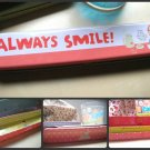 Cute Korean Tin Pencil Case (Always Smile)