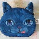 Cat Coin Purse (Blue)