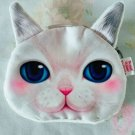 Cat Coin Purse (white)