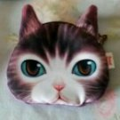 Cat Coin Purse (Brown)