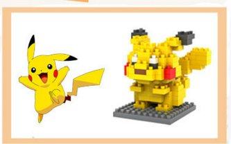 Pikachu mini blocks set