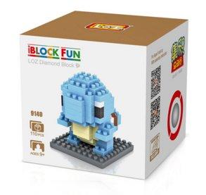 Squirtle mini blocks set